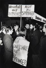 Studentenrevolte 1968 in Deutschland