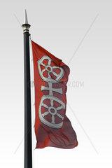 Wehende Fahne Mainz