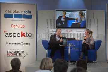 Buchmesse Ffm 2007 - Blaues Sofa