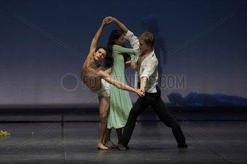 DER NACHMITTAG EINES FAUNS - Szenenfoto des Balletts