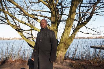 N'SONDE  Wilfried - Portrait of the writer