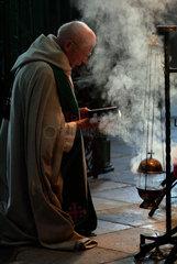 Im Zisterzienserkloster in Osek am Fusse der Erzbebirge