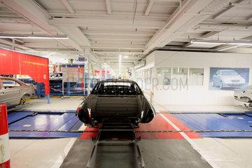 Produktion bei Mercedes Benz in Sindelfingen