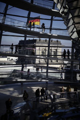 The Reichstag glass dome