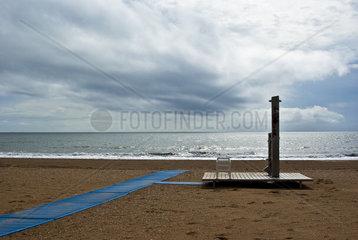 Spanien Dusche am Strand 1