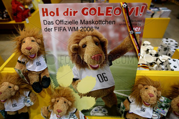 Goleo  das Maskottchen der Fussballweltmeisterschaft 2006