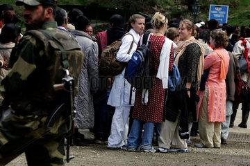 Touristen in Kaschmir