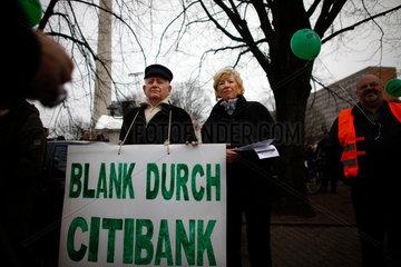 Demonstration against Capitalism