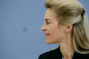 Familienministerin Ursula von der Leyen