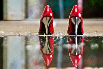 Abseits des Catwalks Spiegelung