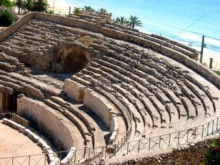 Tarragona  Amphitheater  Tribuenen