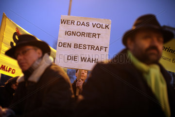 Demonstration against Stuttgart 21