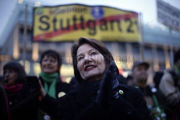 Demonstration against Stuttgart 21