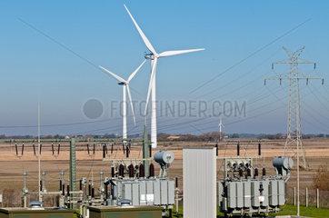 Windenergie-Einspeisung