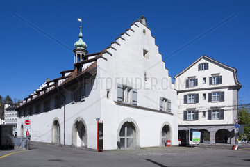 Waaghaus  St. Gallen  Canton of St. Gallen  Switzerland  Europe