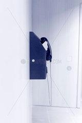 Telefon an einer Wand