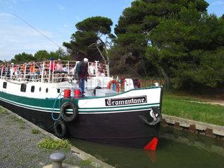 Frankreich  Languedoc-Roussillon  Port-la-Nouvelle  Canal der la Robine