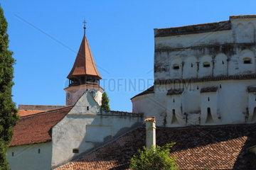 Die Kirche von Prejmer Rumaenien