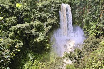 Thomsons Wasserfaelle in Kenia