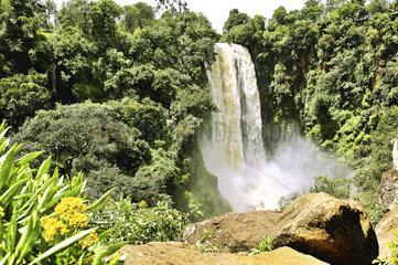 Thomsons Falls in Kenia