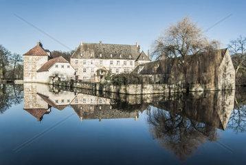 Schloss  Wasserschloss  Tatenhausen  Halle Westfalen