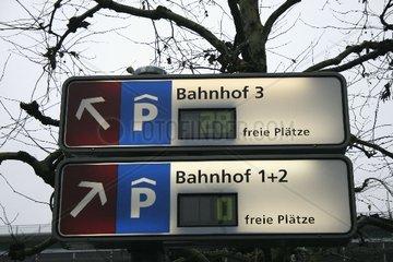 Parkhausleitsystem in Luzern
