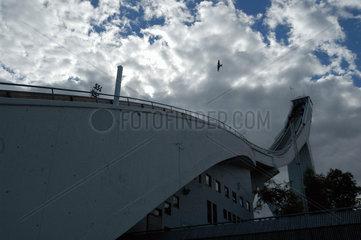 Holmenkollen Schanze ausserhalb von Oslo  Norwegen.