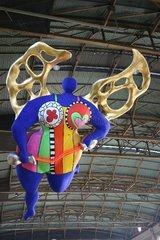 Der Engel von Niki de Saint Phalle in Zuerich