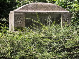Ostfriedhof Dortmund  juedischer Teil