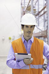 Industrial plant engineer  portrait
