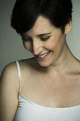 Mid-adult woman  portrait