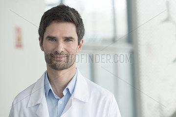 Healthcare worker  portrait