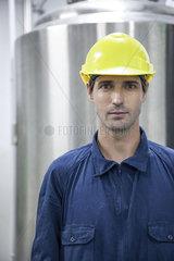 Blue-collar worker  portrait