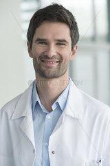 Scientist  portrait