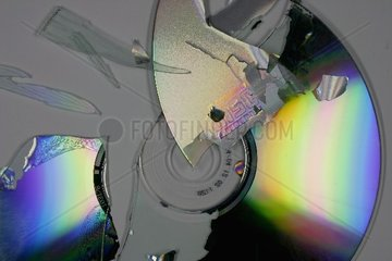 Zerbrochene CD