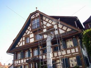 Fachwerkhaus: Renovation