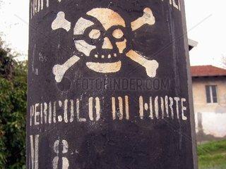 Warnschild (Italien)