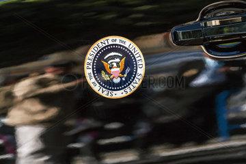 Donald J. Trumps Wappen