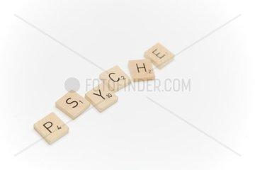Psyche in Buchstaben
