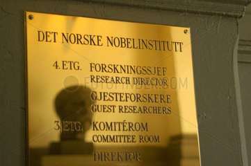 Nobelinstitut in Oslo (NOR).