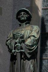 Ulrich Zwingli Denkmal in Zuerich