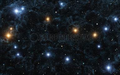 Sternbild Zwillinge