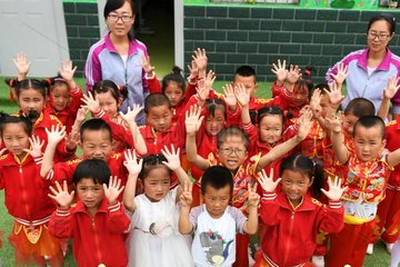 CHINA-GANSU-HUACHI-RURAL KINDERGARTEN-EDUCATION (CN)