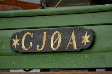 Die Gjoa  mit der Roald Amundsen als erster durch die Nordwest-Passage segelte.