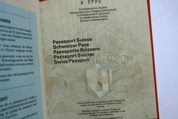 Der Schweizer Pass
