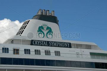 Die Crystal Symphony.