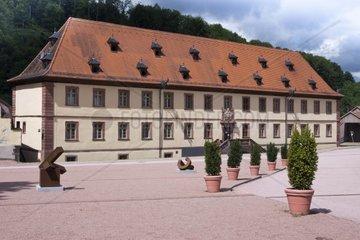 Kloster Bronnbach  ehemalige Zisterzienserabtei  Gaestehaus Bursariat  Liebliches Taubertal  Bronnbach bei Wertheim  Main-Tauber-Kreis  Baden-Wuerttemberg  Deutschland  Europa
