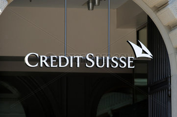 Credit Suisse Haupstsitz in Zuerich  Paradeplatz.