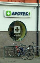 Apotheke (Apothek 1) in Oslo  Norwegen.