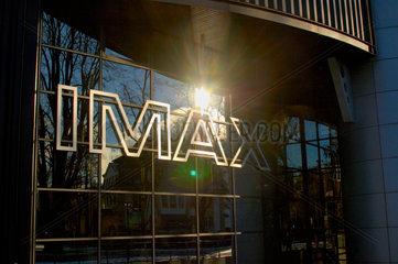 Das IMAX Kino im Verkehrshaus der Schweiz in Luzern.